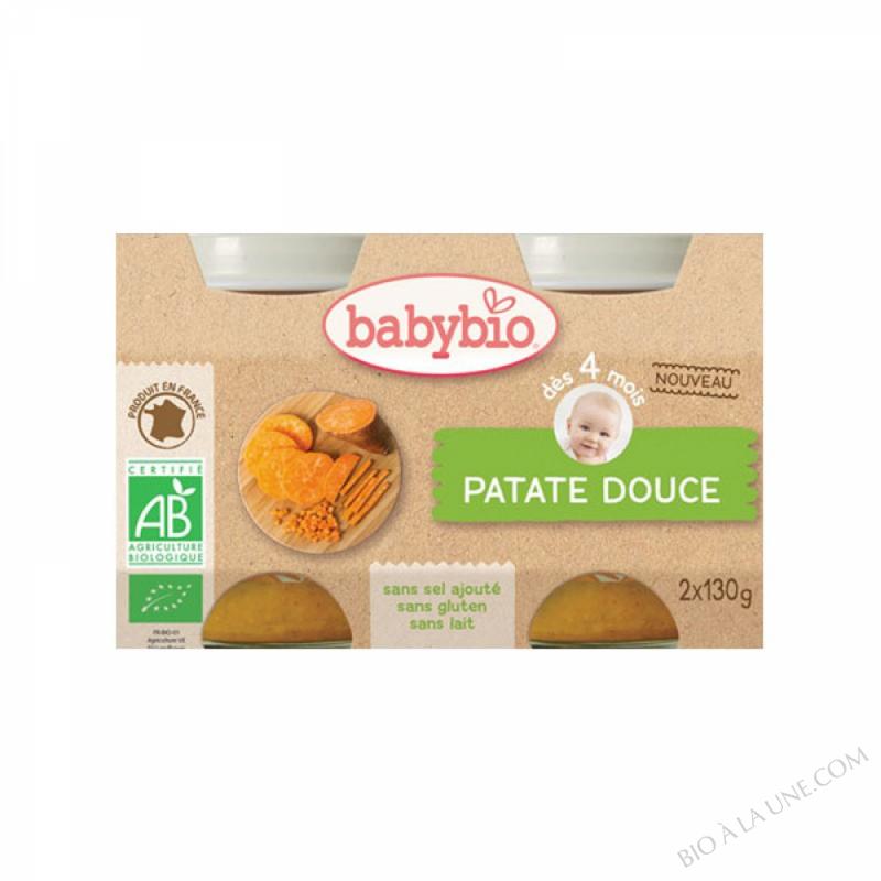Petits pots Patate douce - 2 x 130g