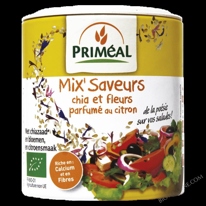 Mix'Saveurs chia et fleurs parfumé au citron - 100 g
