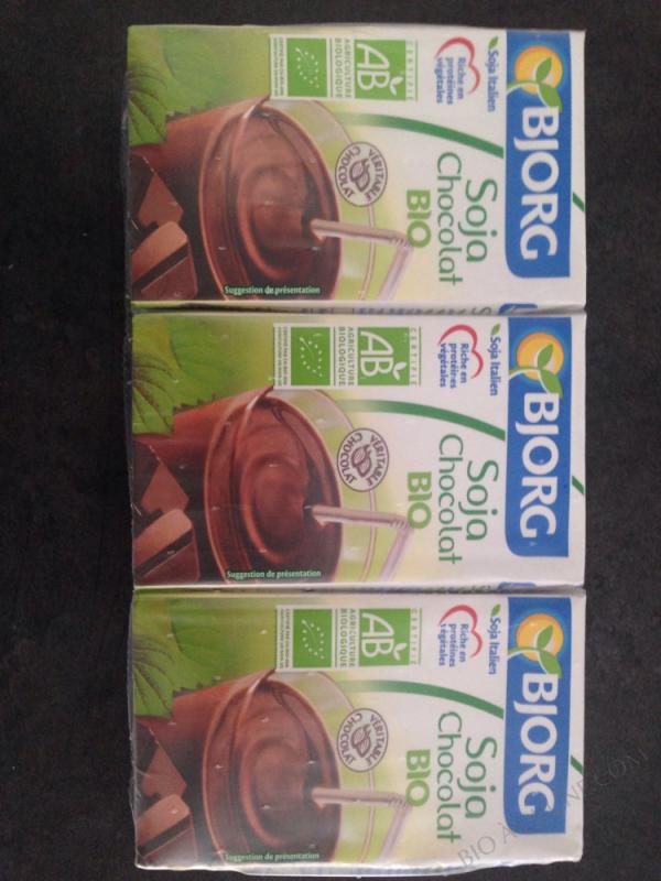 Mini lait soja chocolat 3x25cl
