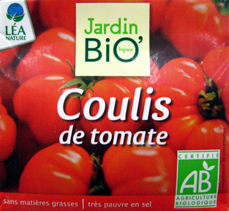 Coulis de tomate 500gr