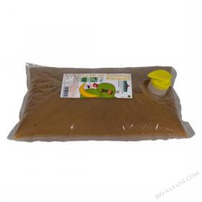 Puree pommes bananes Bio 3kg