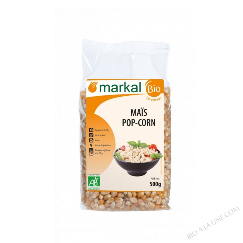 MAÏS POP CORN À ECLATER - 500G