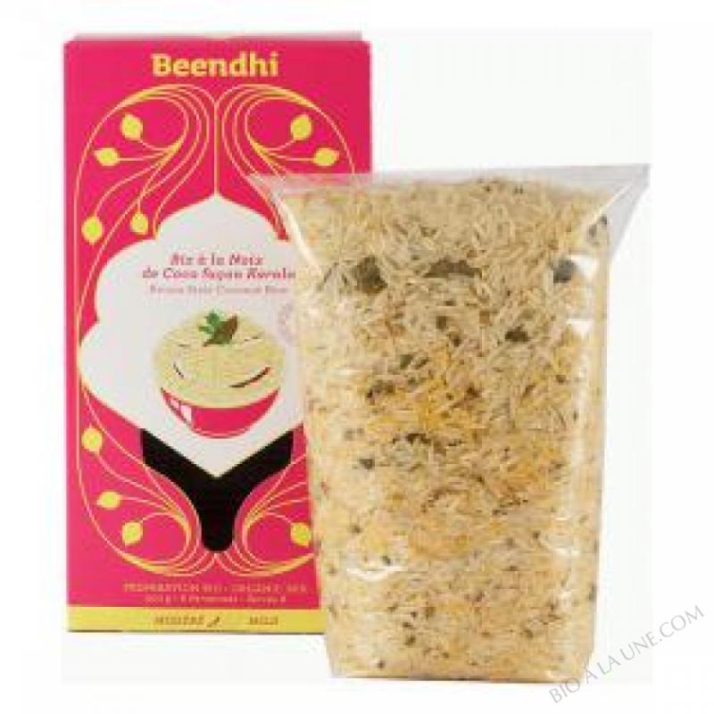 Riz à la noix de coco façon Kerala Bio 500g