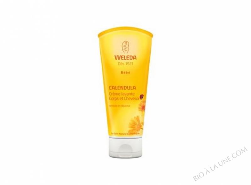 Crème Lavante Corps & Cheveux Bébé - Calendula - 200Ml