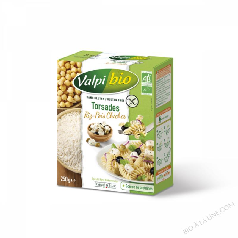 Torsades Riz Pois chiches Bio 250g