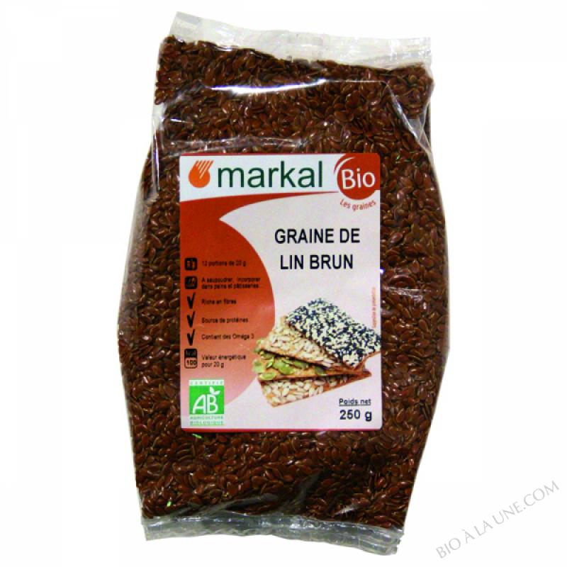 Graines de lin brun 250g