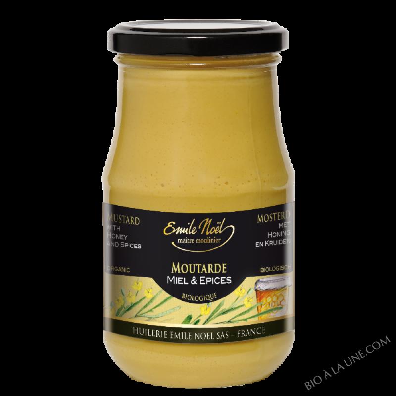 Moutarde au miel et aux épices bio - 200g