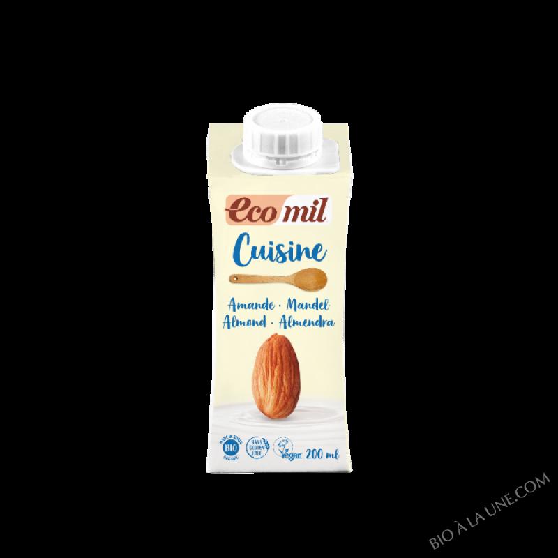 Crème cuisine Amande Bio - 200 ml