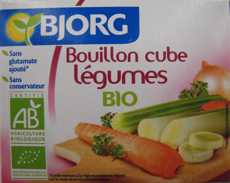 BOUILLON CUBE LEGUMES 72G