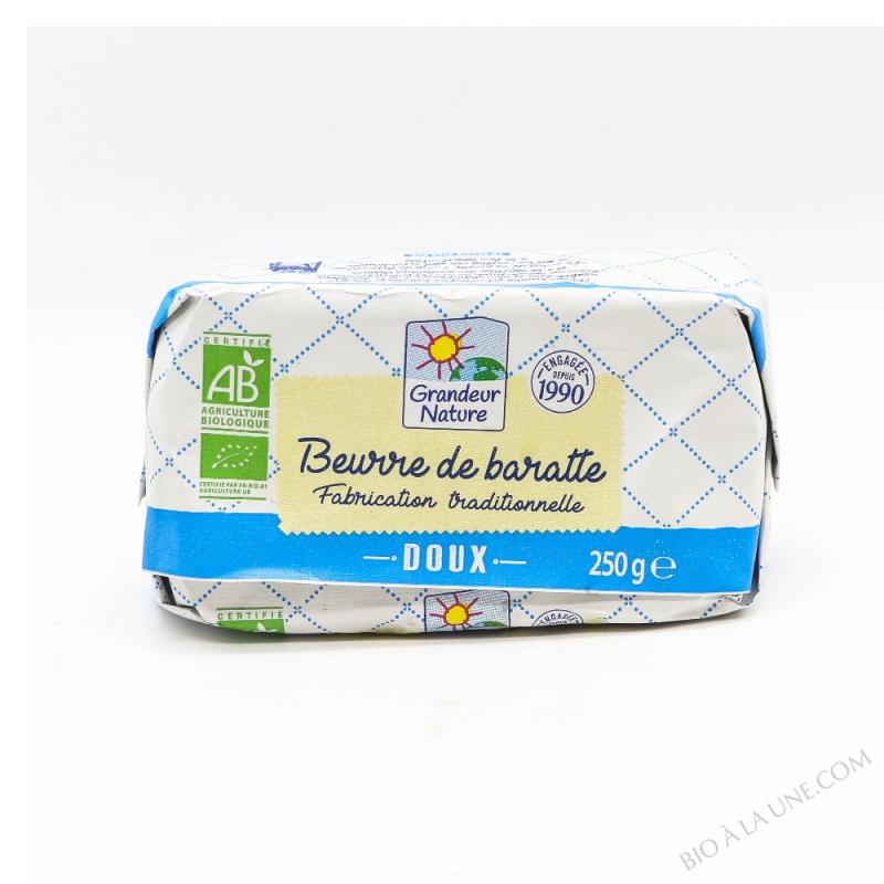 BEURRE MOULE DOUX 250G G.NATURE