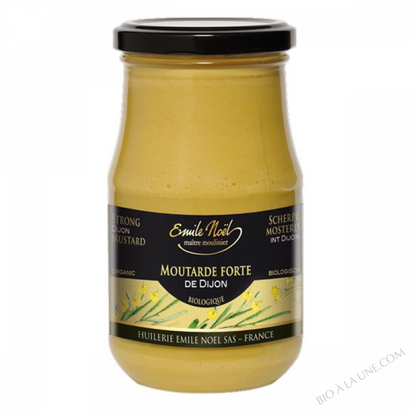 Moutarde forte de Dijon bio - 200g