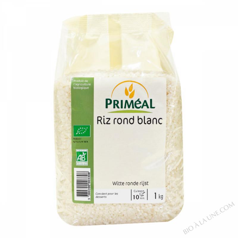 Riz Rond Blanc d'Italie 1kg