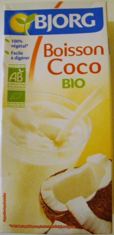 Boisson vegetale coco 1l
