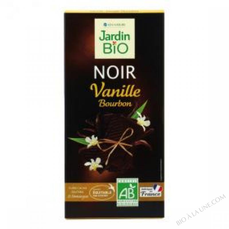 Chocolat noir Vanille Bourbon 100 g