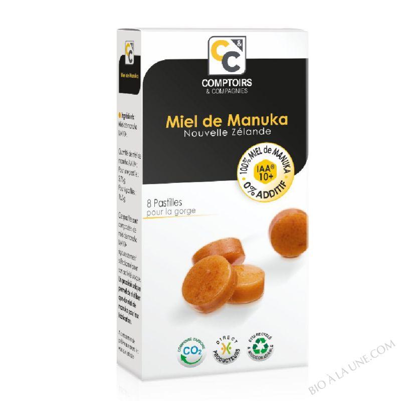 PASTILLES 100% PUR MIEL DE MANUKA IAA10+ Complément alimentaire