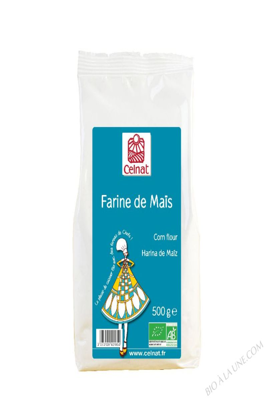 CELNAT Farine de Maïs BIO - 500G