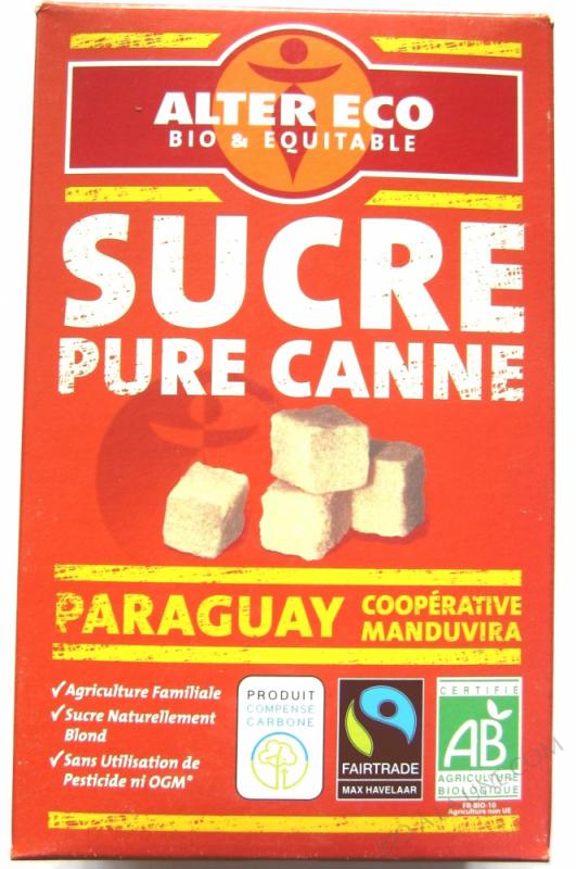 Sucre de Canne en Morceaux bio 500g