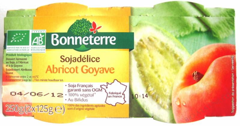 SOJADELICE ABRICOT-GOYAVE - 2X 125 G