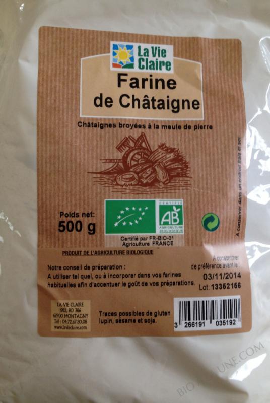 Farine de chataigne- 500 g