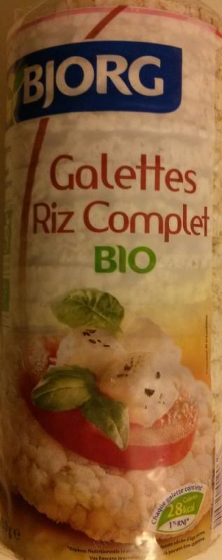 Galettes de riz complet 130g