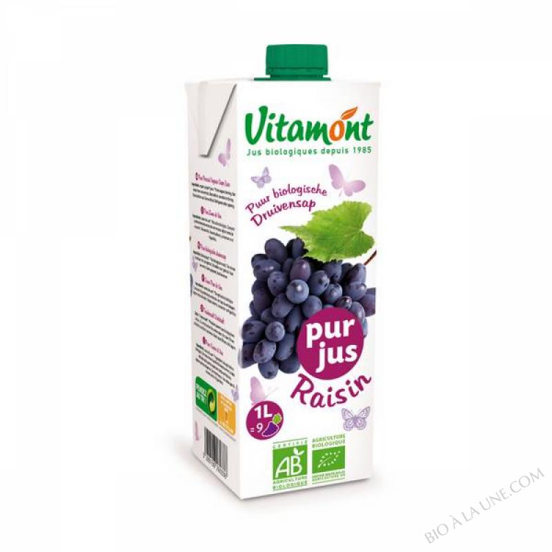 tétra pur jus de raisin - 1 L