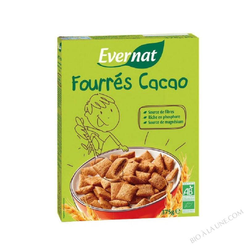 Cereales Fourres Cacao 375gr