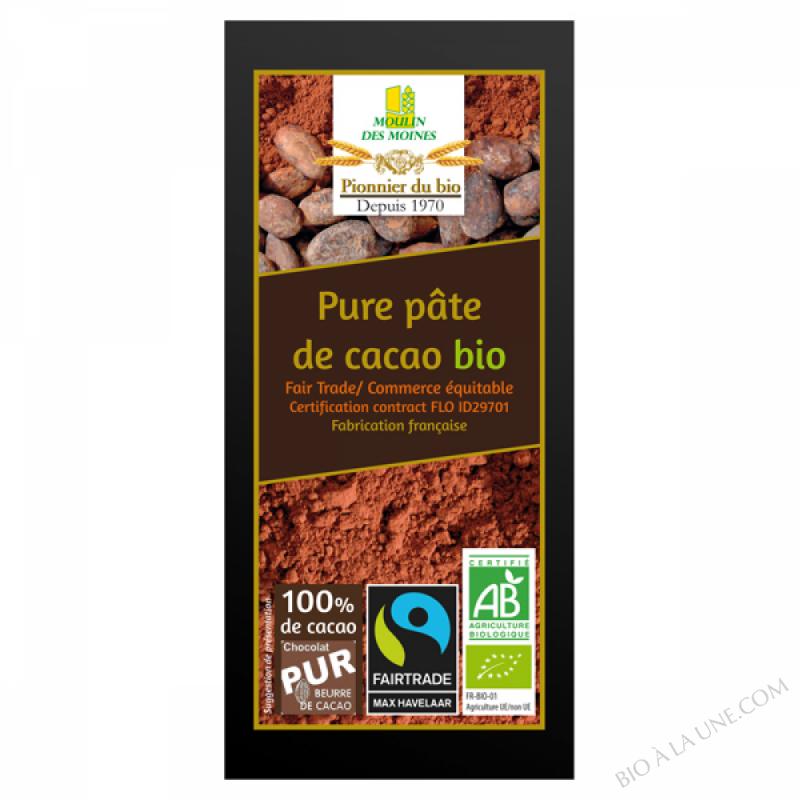 Pure pâte de cacao bio - 100g