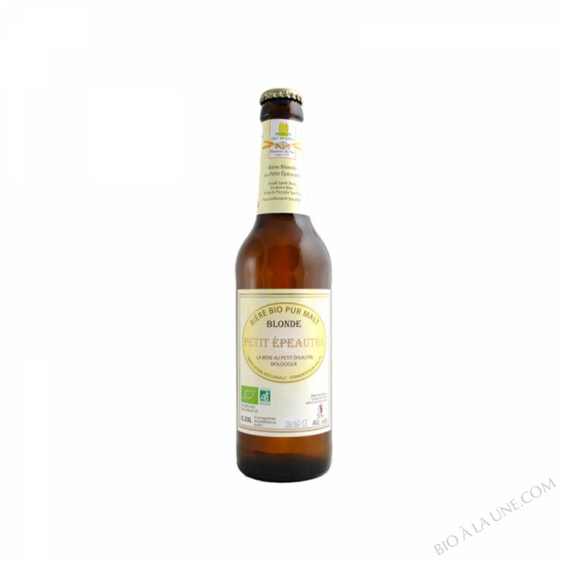 Biere blanche au petit epeautre bio - 33cl