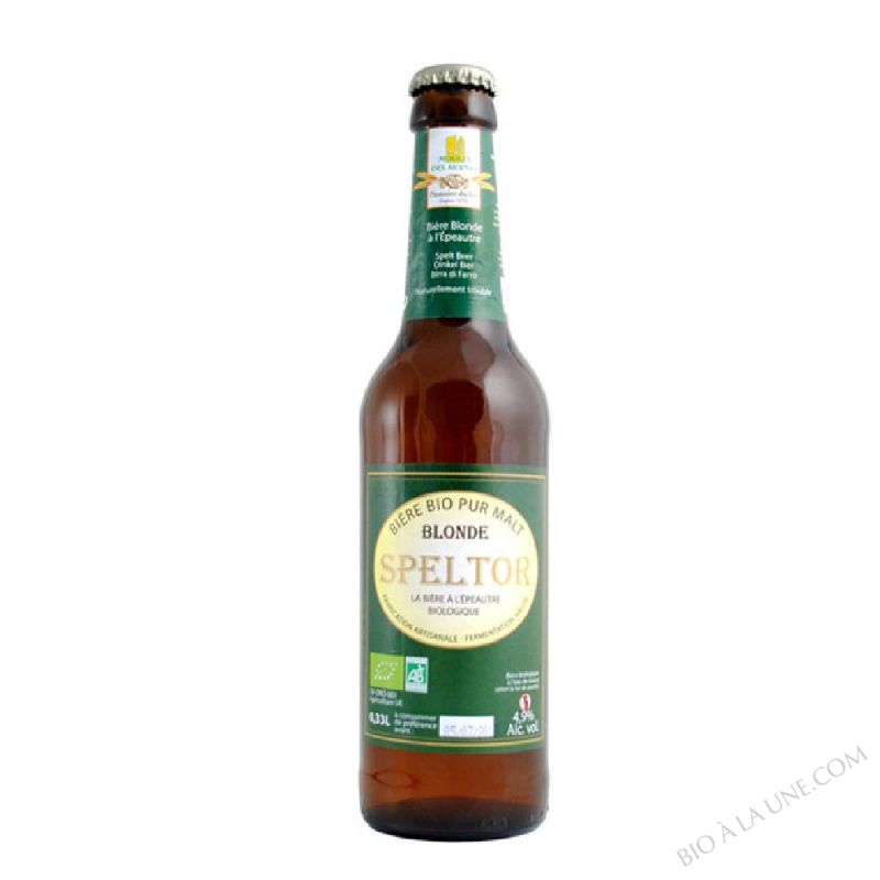 Biere Blonde Speltor BIO 33cL
