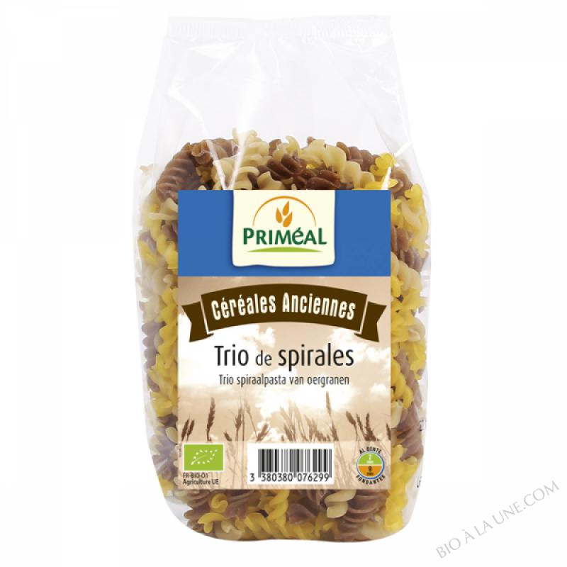 spirales tricolores de céréales anciennes - 350 g