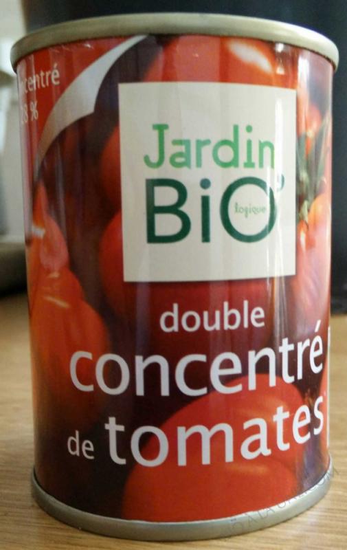 Double concentre de tomate - boite 140 g