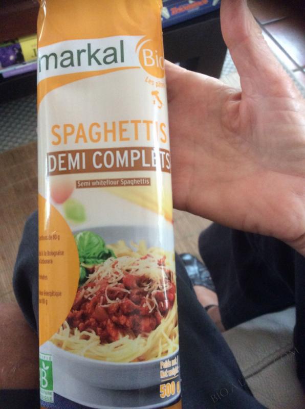 Spaghettis demi-complets - 500g