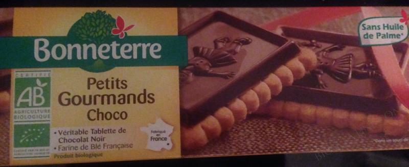 PETITS GOURMANDS CHOCO (PETITS BEURRE NAPPÉS) 150G