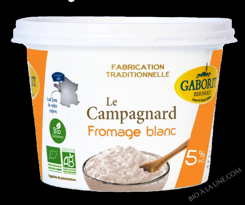 Fromage Blanc 5 % M.G. Campagnard