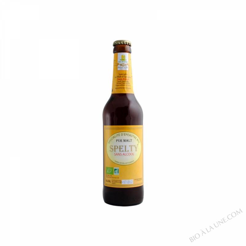 Biere 0% alcool Pur Malt Spelty 33cL