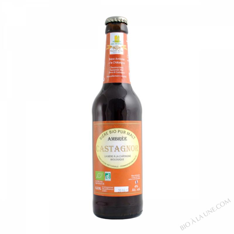 Biere ambree Castagnor - 33cl