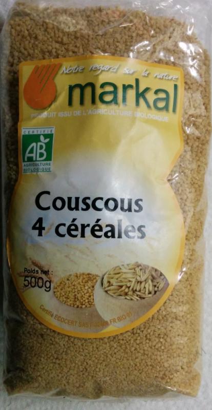 Couscous 4 Cereales 500g