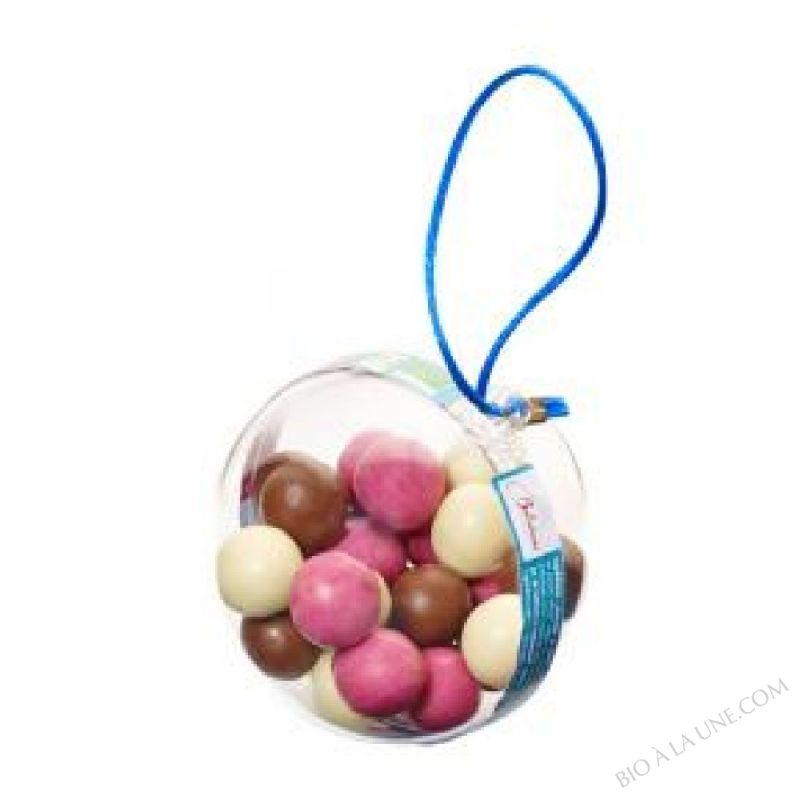 Boule remplie de chocolats