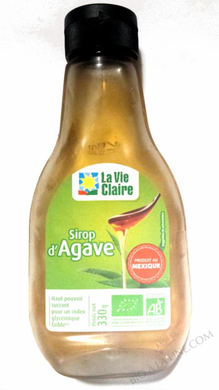 Sirop d'Agave La Vie Claire- 330g