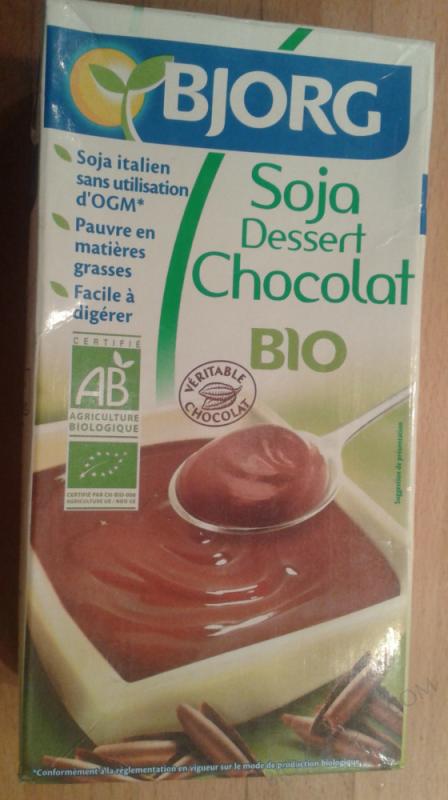 Soja dessert chocolat 525g