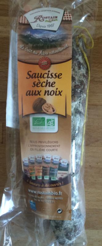 Saucisse sèche aux noix - 150g