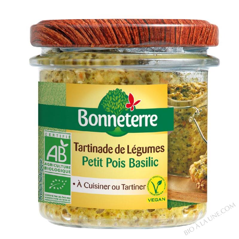 Tartinade de légumes Petit Pois Basilic