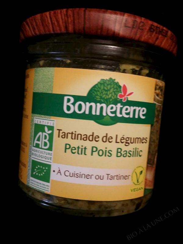 Tartinades De Legumes - Petit Pois Basilic 135gr