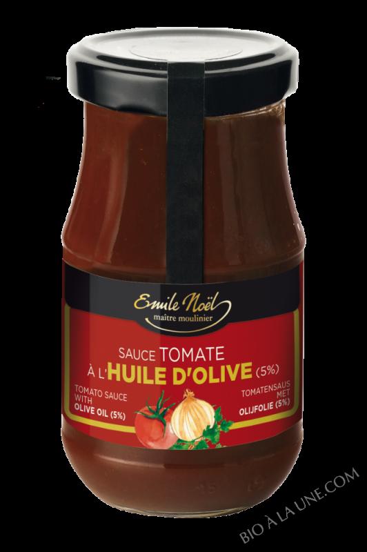 Sauce tomate à l'huile d'olive bio - 350g