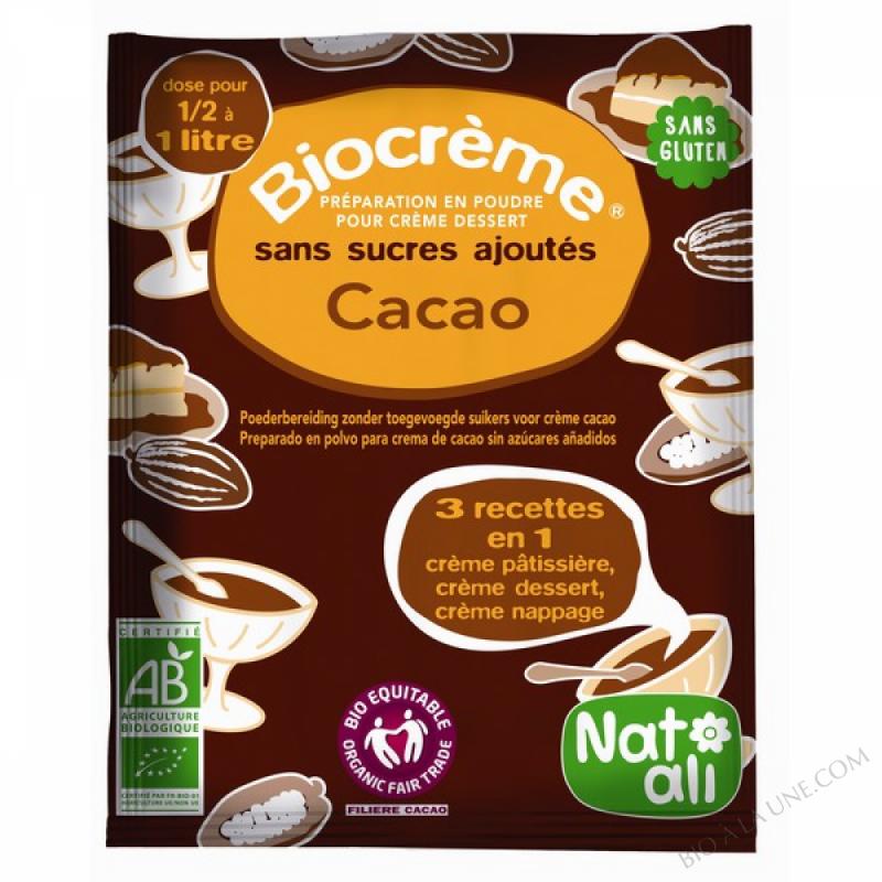 Preparation Biocreme Chocolat 45g