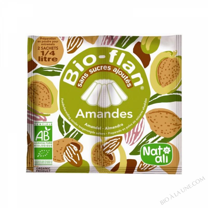 Bioflan Amandes sans sucre 7g
