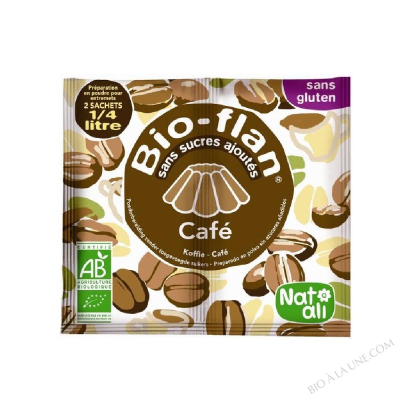 BIOFLAN CAFE S/SUCRE 10G NATALI