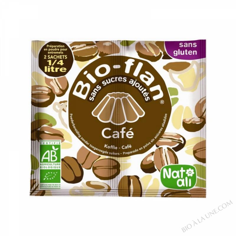 Bioflan Cafe sans sucre 10g