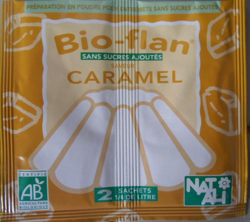 Bioflan Caramel sans sucre 8g