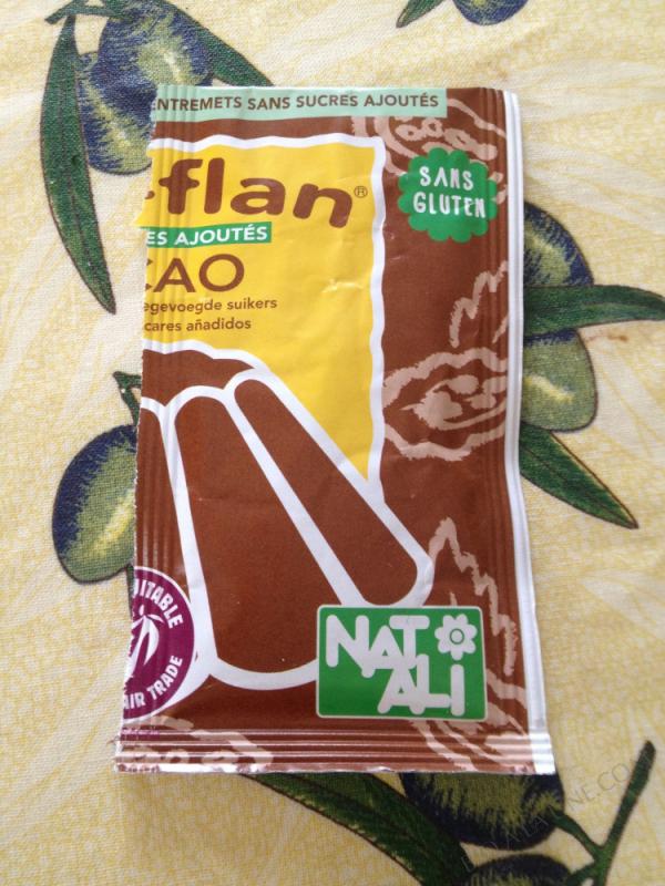 Bioflan Chocolat sans sucre 11g
